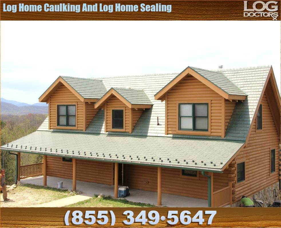 Log_Caulking