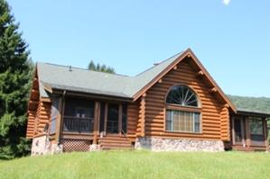 Log Home Caulking and Sealing