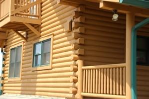Log Home Caulking And Log Home Sealing
